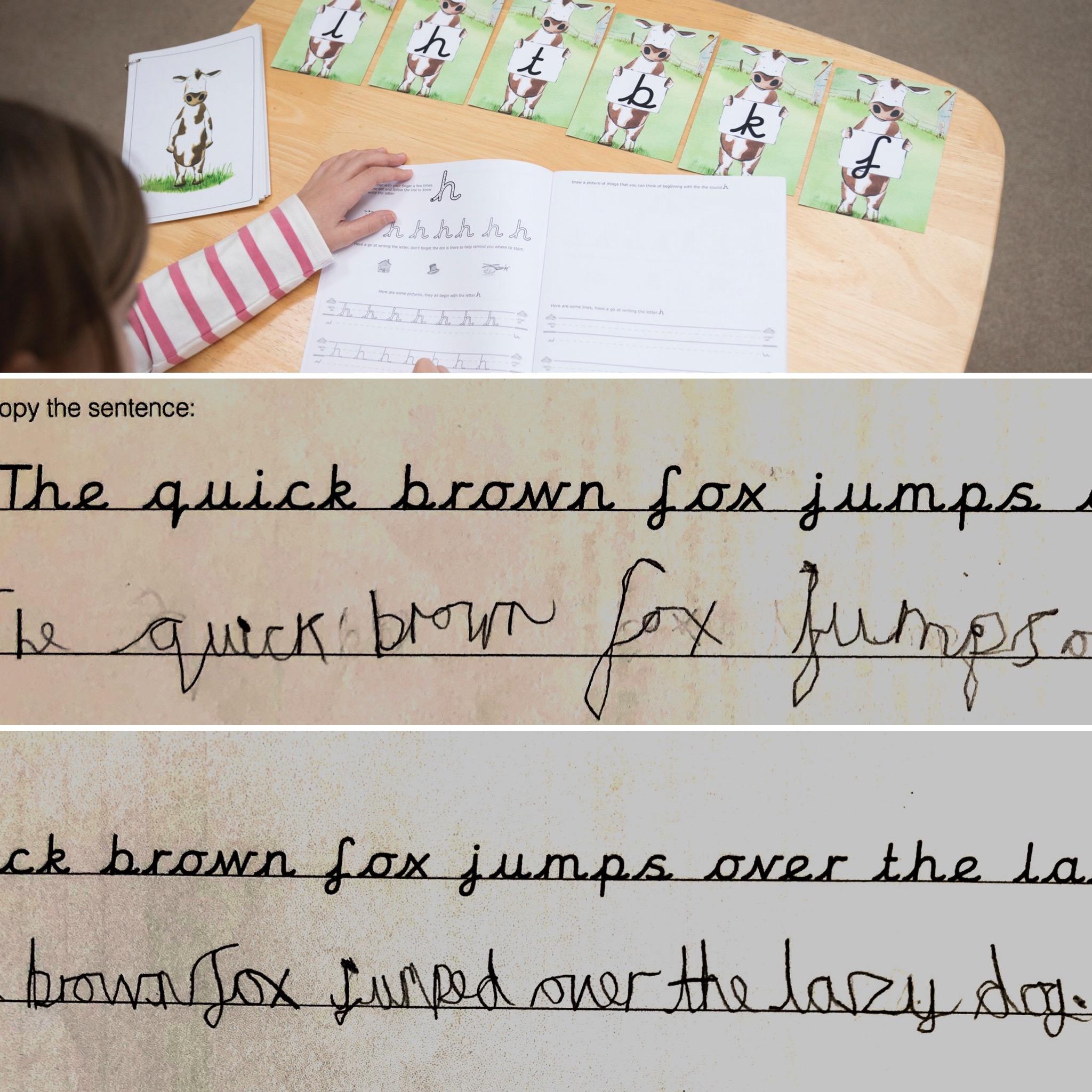 Hemispheres Think Write Improves Handwriting