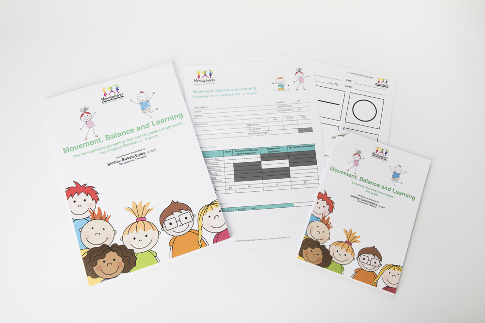 Movement, Balance and Learning ScreeningTool and Movement Programme for Schools (4-6 years)