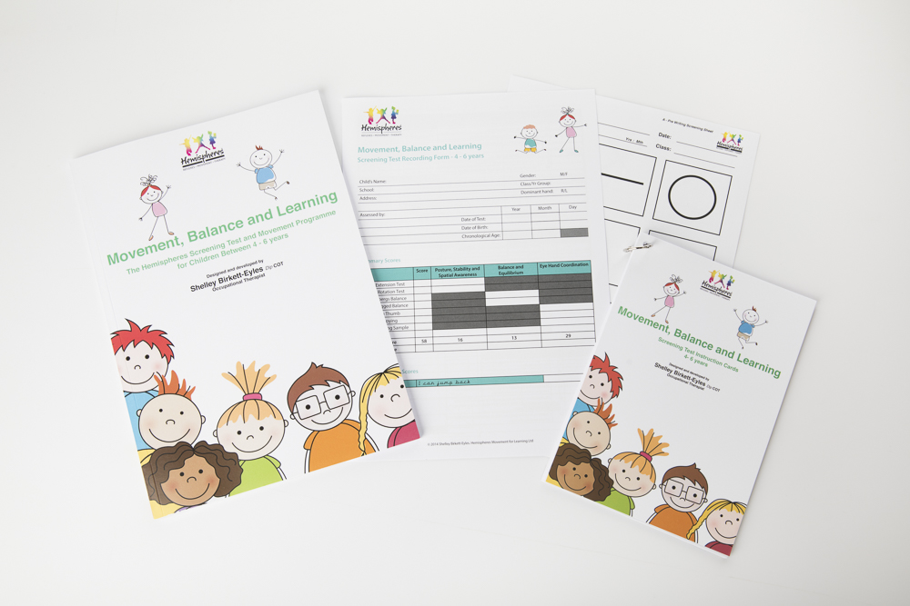 Movement, Balance and Learning Screening Tool and Movement Programme for Schools (7+years)