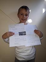 Seb Fowler, 8 years